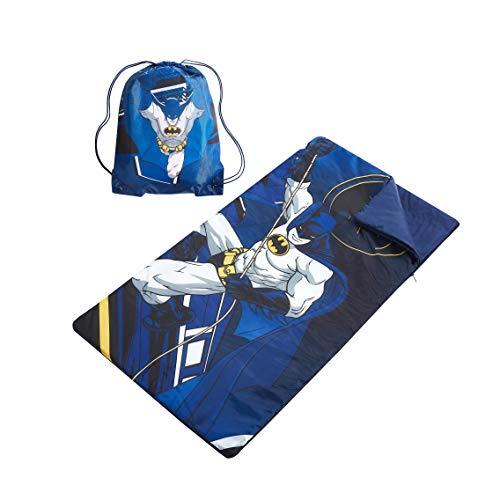 BATMAN Sling Bag with Zip Around Slumber 2Piece Set, 46