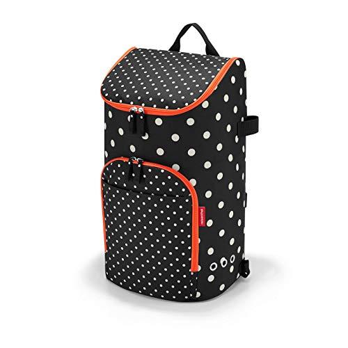 Reisenthel citycruiser bag mixed dots Borsone 60 centimeters 45 Nero (Mixed Dots)