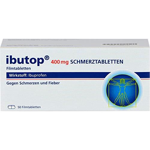 ibutop 400 mg Schmerztabletten Reimport axicorp, 50 St. Tabletten