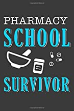 Pharmacy School Survivor: Pharmacist Notebook   Pharmacology Scientists Journal   Cornell Notes For Pharmacy Students and Industry Professionals   110 Blank Pages 6x9 Inch Matte Finish Book