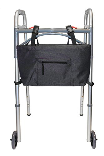 RMS Water Resistant Tote Bag for Walkers, Rollators, or Scooters