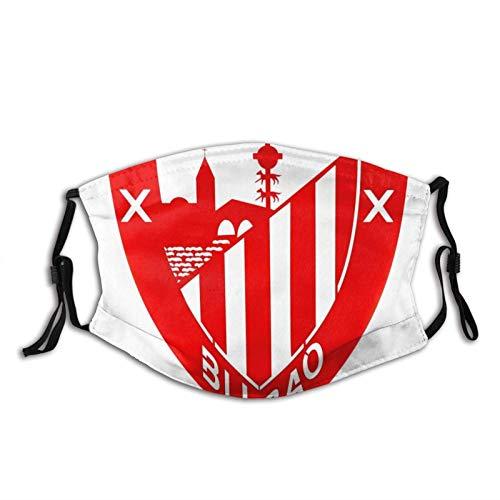 KINGAM Athletic Club Bilbao - Máscara facial UV, máscara de sol, para motocicleta, bufanda mágica, para pesca, caza, correr, esquí