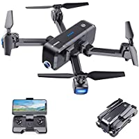 SANROCK X103W 2.7K Camera RC Quadcopter Drone with Gravity Sensor, Altitude Hold, Headless Mode, One Key Take Off/Landing
