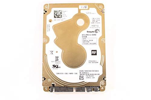 Dell C2T96 ST500LX012 2.5' Ultrathin 5mm SSHD SATA 500GB 5400 Seagate Laptop Hard Drive (Renewed)