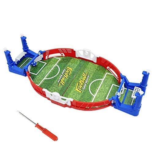 LILIHOT Mini Tischfußball Sport Fußball Spiel Ball Kinder Interaktives Brettspielzeug