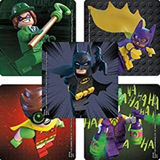 SmileMakers Lego Batman Stickers - Prizes 100 per Pack
