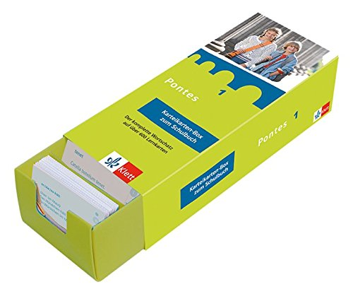 Pontes 1 - Vokabel-Lernbox zum Schulbuch: Latein passend zum Lehrwerk üben