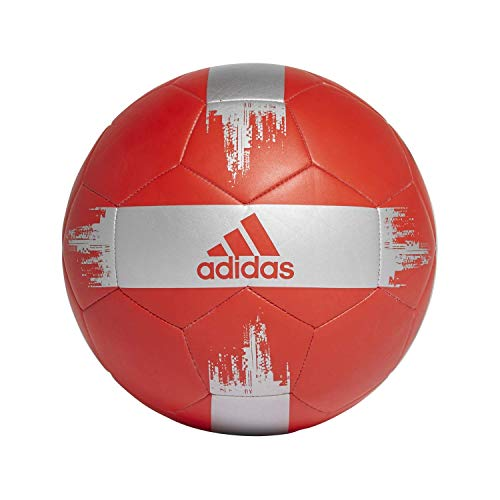 adidas EPP 2 Soccer Ball Active Red/Silver Met 4