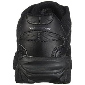 Skechers Men's After Burn Memory Fit - Final Cut Sneaker, Black, 10.5 4E US