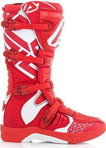 Botas X-TEAM rojo/blanco talla 44