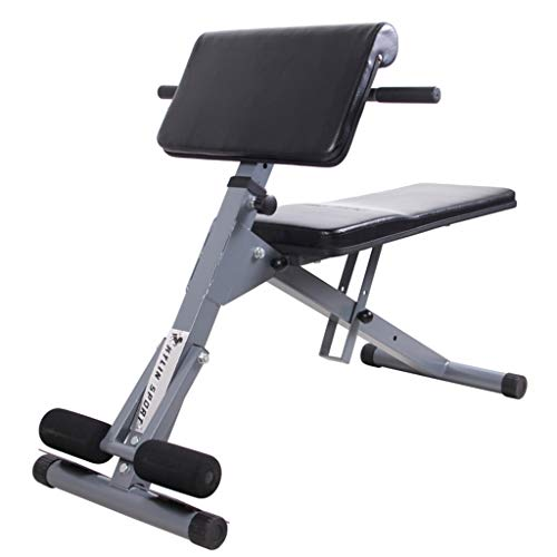 Check Out This DLT Sit Up Bench Roman Chair, Back Hyper Extension Ab Bench Abdominal Muscles Exercis...