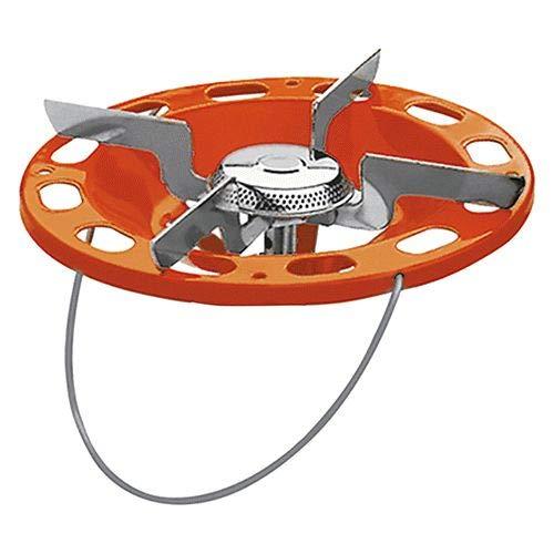 Hornillo para bombona de camping con casquillo universal