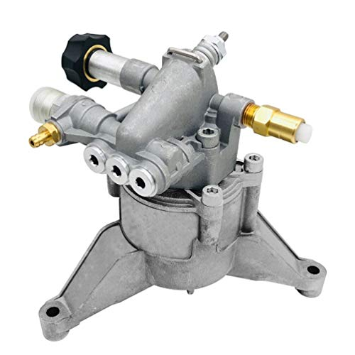 "Pressure Washer Water Pump - 3200 PSI 7/8"" Shaft Replacement Power Washer Aluminum Head Pump 2.4 GPM Vertical"