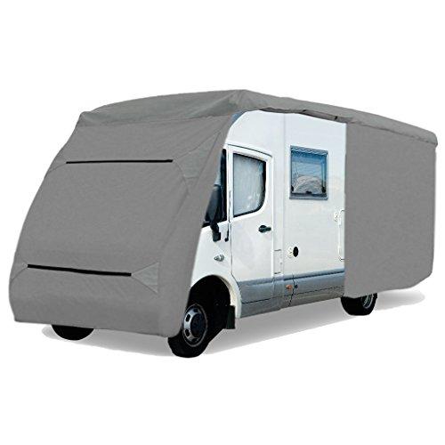 """Bestlivings Schutzhülle für Wohnmobil, Caravan Abdeckung in der Größe CC-3"""" (Länge x Breite x Höhe) 870x235x275cm"""