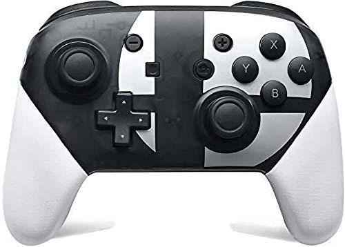 Switch Pro Controller para Nintendo Switch, suporta giroscópio e vibração dupla , perfeitamente compatível com Nintendo Switch e PC, turbo ajustável e vibração dupla. (Preto e branco)