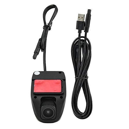 Duokon Dash Cam USB Full HD 1080 P Coche DVR Grabador de video Dash Cámara de conducción Grabadora 170 Gran Angular para Android