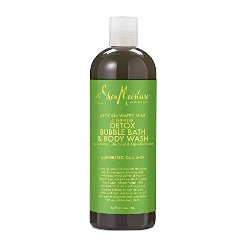 SheaMoisture African Water Mint Bubble Bath Body Wash