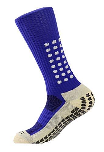 PreSox Unisex Sport verdicken Cushion Crew Socken mit Gummi Punkte für Baseball / Fußball / Futbol Shinguards