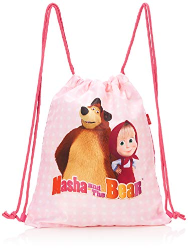 TARGET Turnbeutel Masha and the Bear 17641, mehrfarbig