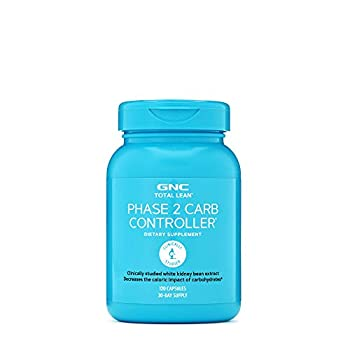 GNC Total Lean Phase 2 Carb Controller   Decreases Calorie Impact from Carbohydrates   120 Capsules
