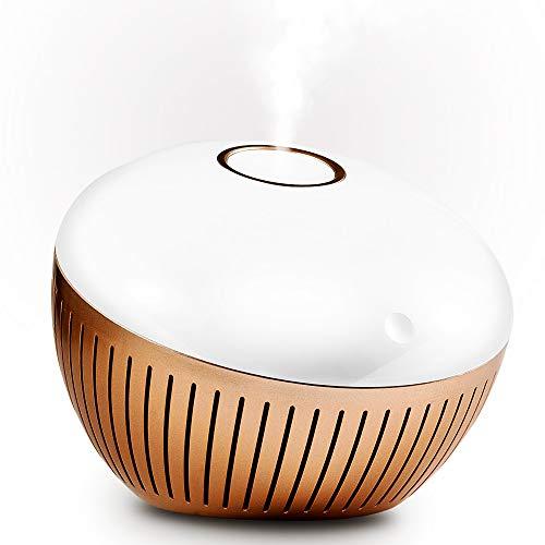KGV 280ml Diffusor mit ätherischen Ölen Warmes Nachtlicht mit Ultraschall-Luftbefeuchter für Aromadiffusor 6-8 Stunden Betrieb, automatische Abschaltung und Überhitzungsschutz, Aromatherapie, BPA-frei