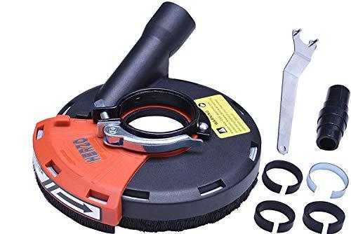 Universal Absaughaube für Winkelschleifer mit Bürstenkranz 115mm/125mm…