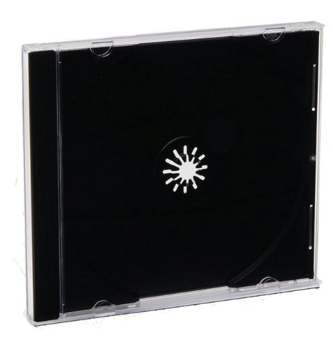 Verbatim CD/DVD Jewel Cases (0.41 inches) - Black- 200 pack (Bulk) - 94867