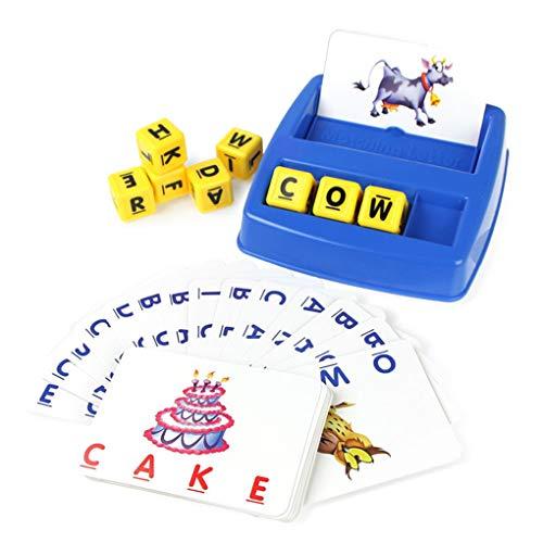 Floridivy Bijpassende Letter Kinderen Early Education Engels Correcting lezen en spellen met afbeeldingen