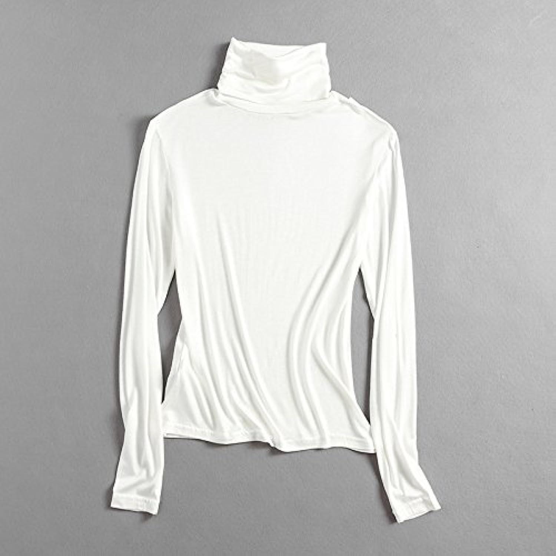 SZYL-Sweater Herbst und und und Winter Frauen europäischen und amerikanischen Frauen Reine Farbe hochgeschlossenen langärmeligen gestrickte Frauen langärmeligen T-Shirt mit Langen Ärmeln Strickpullover B07C9DWW8C  Ideales Geschenk für alle Gel e2901b