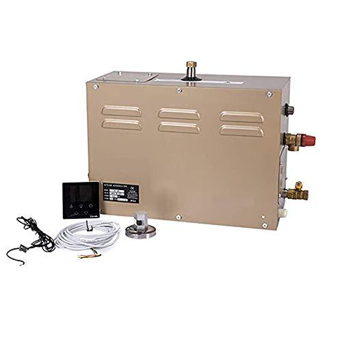 Hanchen 3 KW Generatore di vapore per sauna bagno turco doccia 2 m³ Temperatura regolabile 25-55 ℃ Timer 30 min-12 h 220 V CE (3 KW / 220 V)