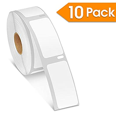 """Spartan Industrial - DYMO-Compatible 30336 Multipurpose Labels 1"""" X 2-1/8"""" Replacement for DYMO 30336 Labels (10 Pack)"""