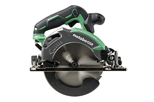 Metabo HPT Cordless Circular Saw | Tool Only | No Battery | 18V | 6-1/2' Deep Cut Design | Brushless Motor | Lifetime Tool Warranty | C18DBALQ4