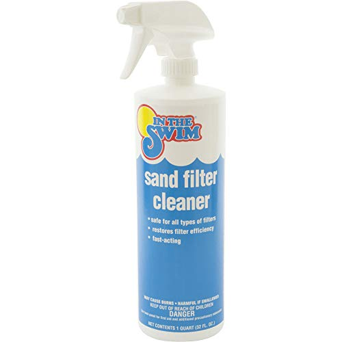 In The Swim Liquid Pool Sand Filter Cleaner – 1 qt.