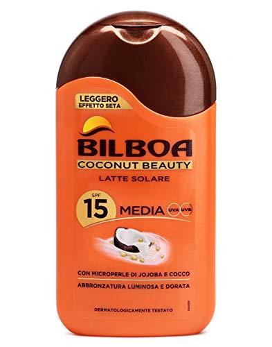 Körpersonnenschutz coconut beauty spf 15 Sonnenmilch protezione bassa 200 ml