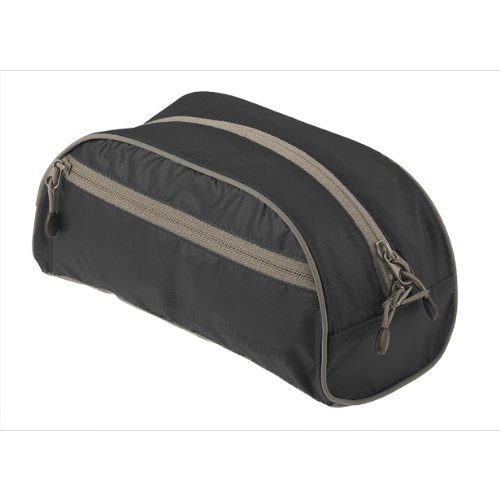 Sea to Summit Travelling Light Toiletry Bag (Small/Black) by Sea to Summit