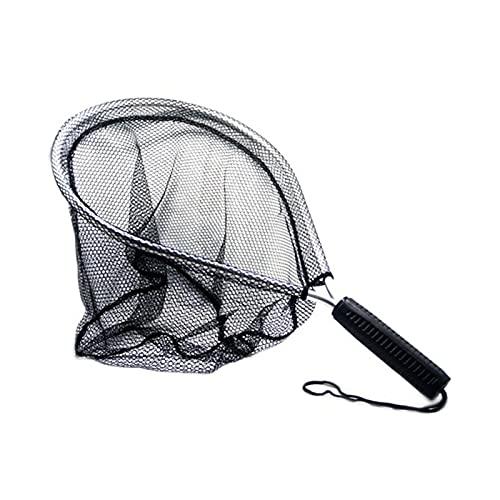 DUNLIN Mosca De Pesca De Aterrizaje Net Nomad Goma Pescado Nylon Mesh Trout Bag Bolsa