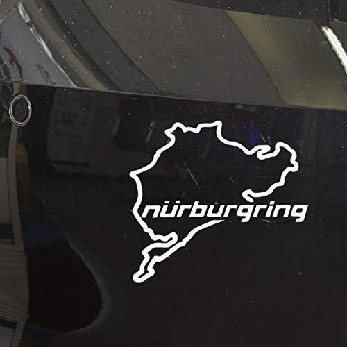 Pegatina Nurburgring  marca UUSticker
