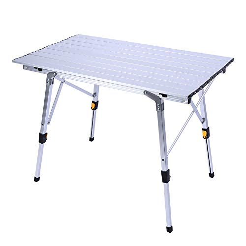 redcamp aluminum roll up table