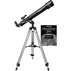 "A great choice for beginners, this 70mm refractor telescope will introduce you to the wonders of the night sky 70mm (2.75"") aperture and 700mm focal length telescope provides great views of bright night-sky objects such as star clusters and cloudy ne..."