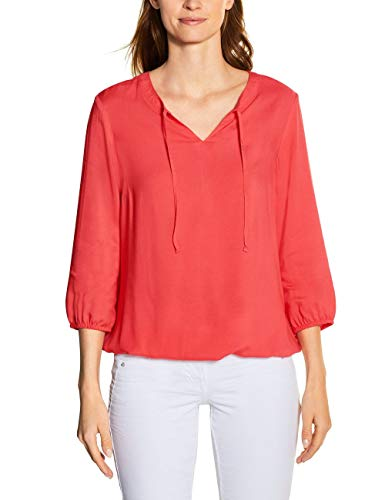 Cecil Damen 341889 Bluse, Tangerine orange, XX-Large