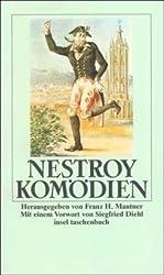 Cover Nestroy Komödien