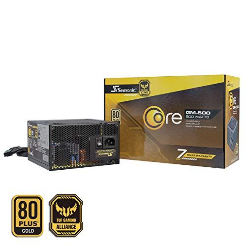 Seasonic CORE-GM-500 Teilmodulares PC-Netzteil 80PLUS Gold 500 Watt