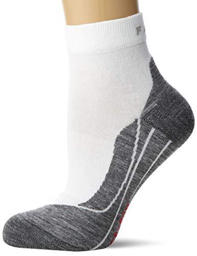 FALKE Damen Laufsocken RU4 Short - Baumwollmischung, 1 Paar, Weiß (White-Mix 2020), Größe: 37-38