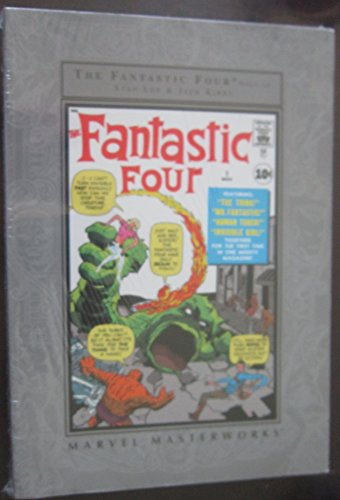 THE FANTASTIC FOUR (NOS 1 - 10) [Paperback] by LEE, STAN AND JACK KIRBY