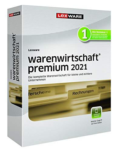 Lexware warenwirtschaft premium 2021 Minibox (Jahreslizenz) Effizientes Warenwirtschaftssystem für eine organisierte Datenverwaltung Kompatibel mit Windows 8.1 oder aktueller Premium 5 1 Jahr PC Disc