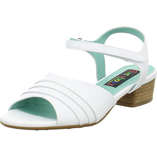 Everybody Sandaletten Größe 38 EU Weiß (Weiß)