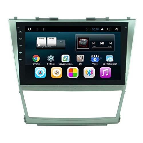 TOPNAVI pour Toyota Camry 2008 2009 2010 2011 Android 7.1 Radio de Navigation de Voiture Stéréo avec WiFi 3G RDS Lien Miroir FM AM Bluetooth Audio Vidéo