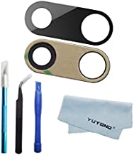 YUYOND OEM Original Rear Back Camera Glass Lens Replacement for iPhone 7 Plus and for iPhone 8 Plus with Adhesive Preinstalled Glass Lens only Without Ring Frame with Tools and Clean Cloth