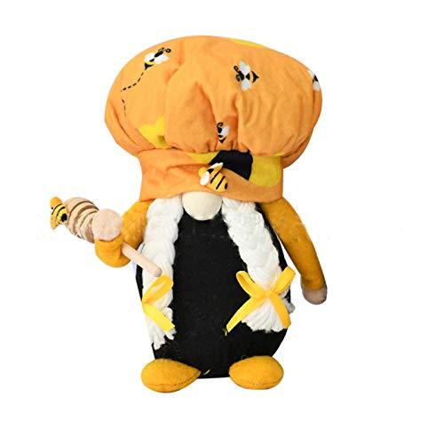 Spielzeug Puppe Biene gesichtslose alte Mannpuppe Hummelzwerg Skandinavier Tomte Nisse Zwerg Schwedische E-lf Dekorationen