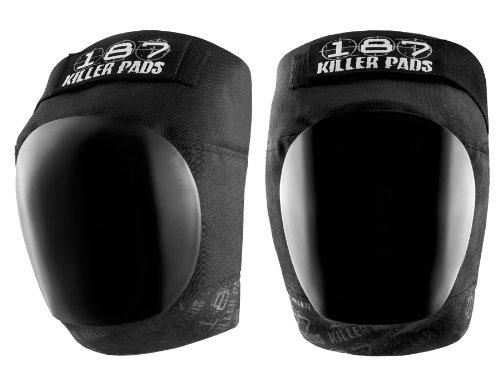 Killer Pads Schutzausrüstung Kneepads Pro, Schwarz, XL